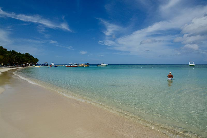 West Bay Beach Roatan