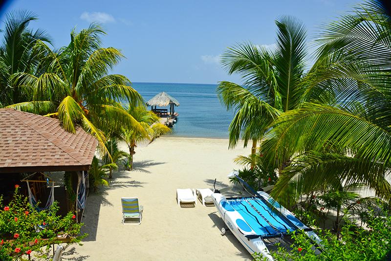 Roatan Beach Cabana